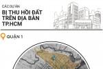 """Các dự án treo trên """"đất vàng"""" Sài Gòn bị thu hồi"""