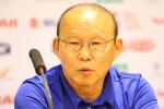 """Thầy Park: """"Việt Nam cần tránh thủng lưới trước tại Asian Cup"""""""