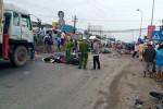 """Vụ xe container """"điên"""" tại Long An: Phanh hoạt động bình thường"""