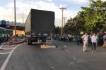 Đi khám thai, người phụ nữ bị xe tải cán chết thương tâm