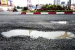 Quốc lộ 1D hư do mưa?