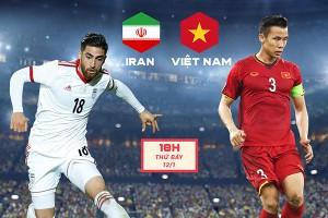 Iran - Việt Nam: Khi thầy trò Park Hang-seo vượt sóng