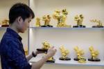 Tượng heo vàng giá trăm triệu ở Sài Gòn