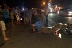Xe máy va chạm người đi bộ, 1 người tử vong, 2 người bị thương nặng