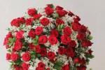 Hoa hồng từ vài triệu đến chục triệu đắt khách trước Valentine