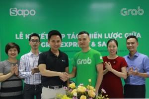 Sapo và Grab bắt tay: Các chủ shop kết nối giao hàng nhanh trong một nốt nhạc
