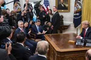 Quan chức Mỹ - Trung nói khả năng đạt thỏa thuận kết thúc chiến tranh thương mại rất cao