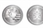 500.000 đồng một đồng xu bạc kỷ niệm Thượng đỉnh Trump - Kim