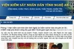 Thu giữ lô ma túy khủng ở Nghệ An: Viện KSND tỉnh thông tin chính thức