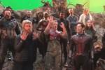 """Chris Hemsworth cùng dàn sao """"Avengers"""" hát mừng sinh nhật Iron Man"""