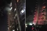 Cháy tại chung cư Flora Anh Đào lúc rạng sáng, hàng trăm người dân hoảng hốt