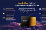 MediaTek công bố chip Helio M70 với modem 5G