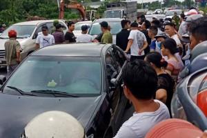 Bắt thêm nghi phạm liên quan vụ giang hồ vây xe công an