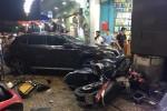 Xác định danh tính nữ tài xế Mercedes gây tai nạn liên hoàn ở Sài Gòn