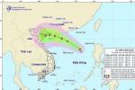 Áp thấp nhiệt đới nguy cơ thành bão trên Biển Ðông