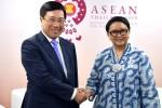 Việt Nam và Indonesia kêu gọi tuân thủ luật pháp quốc tế tại Biển Đông