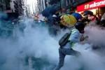 Kinh tế Hong Kong lao dốc vì biểu tình