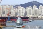 Tàu sân bay nội địa Trung Quốc hôm nay chạy thử trên biển