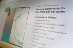 Galaxy Note10+ giá hơn 4 triệu trên website giả Samsung Việt Nam