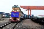 Những chuyến tàu chở container rỗng từ Trung Quốc đến châu Âu