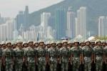 Trung Quốc luân chuyển đợt binh sỹ mới tới Hong Kong