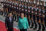 """Thăm Trung Quốc, Thủ tướng Đức kêu gọi """"giải pháp hòa bình"""" cho Hồng Kông"""