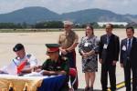 Đà Nẵng: Hồi hương hài cốt quân nhân Mỹ