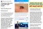 Dùng Zalo kêu gọi diệt muỗi, phòng chống sốt xuất huyết tại TP.HCM