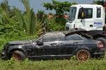 Danh tính 3 nạn nhân tử vong trong chiếc Mercedes nổi trên rạch
