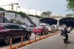 Cấm xe qua hầm sông Sài Gòn hai ngày cuối tuần