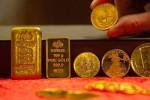 Giá vàng thế giới giảm khi chứng khoán Mỹ cao kỷ lục