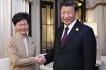 Ông Tập Cận Bình bất ngờ gặp Trưởng đặc khu Hong Kong, yêu cầu chấm dứt bạo lực