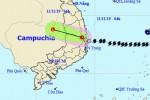 Bão số 6 suy yếu thành áp thấp nhiệt đới, Đông Nam Bộ và Tây Nguyên mưa lớn