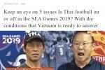 Báo Thái Lan bi quan về khả năng chiến thắng trước U22 Việt Nam