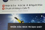 """Dịch vụ """"die nick"""" Facebook quảng cáo rầm rộ tại Việt Nam"""