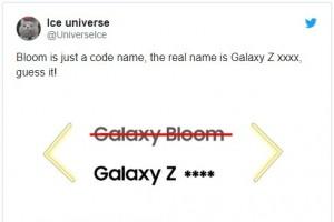 """Smartphone màn hình gập vỏ sò của Samsung sẽ có tên """"Galaxy Z Flip"""""""