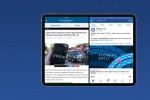 Facebook trên iPad hỗ trợ chế độ xem Split View và Silde Over