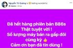 """CEO BKAV Nguyễn Tử Quảng nói Bphone """"cháy hàng"""", nhiều người Việt tỏ vẻ hoài nghi"""