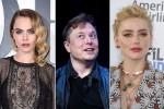 Tỉ phú Elon Musk lên tiếng trước nghi án sex tập thể với Amber Heard và Cara Delevingne