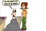 Cô gái nhận 10 triệu đồng nhờ cắt tóc cho khách trọc đầu