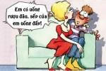 Chồng nổi giận khi vợ không uống rượu