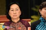 Bà Nguyễn Thị Quyết Tâm đứng thứ 2 nhóm phiếu tín nhiệm cao
