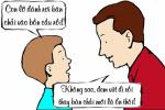 Bố nghẹn lời trước tự thú của con trai