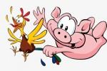 Tranh cãi gà và lợn