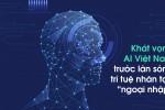 """Khát vọng AI Việt Nam trước làn sóng trí tuệ nhân tạo """"ngoại nhập"""""""