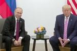 """Câu nói đùa """"gây sốc"""" mà TT Trump dành cho TT Putin ở G20"""