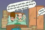 Chồng đi công tác vì tình nhân của vợ