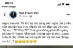 Ngô Thanh Vân bị phản ứng khi đưa tin sai giữa đại dịch virus corona