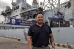 Tâm sự của thủy thủ gốc Việt trên tàu sân bay Mỹ ở Đà Nẵng