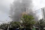 Cháy trong khu dân cư ở Sài Gòn
